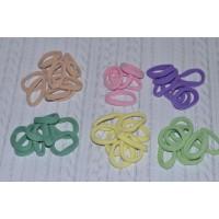 Резинки бесшовные 35 мм, цветные