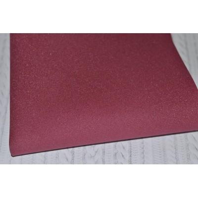 Фоамиран зефирный (Китай) 1 мм, цвет - бургундий