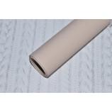 Бумага упаковочная матовая, ширина 50 см, цвет - беж