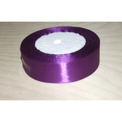 Лента атласная 25 мм фиолетовая