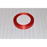 Лента атласная 12 мм красная, катушка - 22,8 м