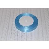Лента атласная 12 мм голубая, катушка - 22,8 м