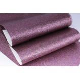 Декоративный материал кожзам с блестками лиловый
