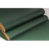 Декоративный материал кожзам Классик зеленый