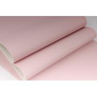 Декоративный материал кожзам Классик светло-розовый