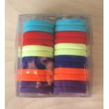 Набор резинок для волос 40 мм, цветные (24 шт)