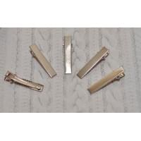 Заколка-основа 4 см металл
