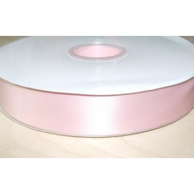 Лента атласная 25 мм светло-розовая Элитная Premium