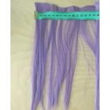 Волосы-тресс прямые длина 25 см, ширина 10 см, фиолетовый
