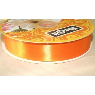Лента атласная 25 мм оранжевая (№151)