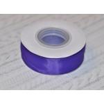 Лента репсовая 25 мм темно-фиолетовая (#35)