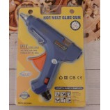 Термоклеевой пистолет 60W 11 мм синий