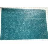 Глиттерный фоамиран 20х30 см голубой