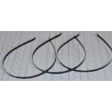 Ободок-основа (металл), 4 мм черный