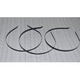 Ободок-основа (металл), 5 мм черный