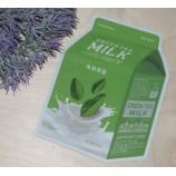 Тканевая успокаивающая маска с экстрактом зеленого чая и гамамелиса Green Tea Milk One Pack