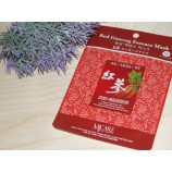Маска тканевая для лица с женьшенем Mijin Essence Mask Red Ginseng
