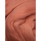 Шерсть для валяния однотонная цвет персик (№037) (50 гр)