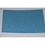 Глиттерный фоамиран 20х30 см, толщина 2 мм, цвет - светло-голубой