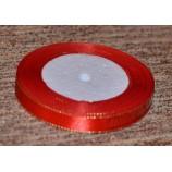 Лента атласная с люрексом, красная, 12 мм, отрез - 2,80 м