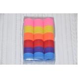 Набор бесшовных резинок для волос 30 мм, яркие (66 шт)