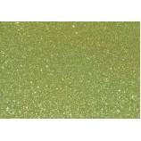 Глиттерный фоамиран 20х30 см, толщина 2 мм, цвет - салатовый 2