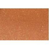 Глиттерный фоамиран 20х30 см, толщина 2 мм, цвет - оранжевый