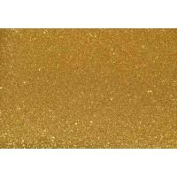 Глиттерный фоамиран 20х30 см, толщина 2 мм, цвет - золото 2