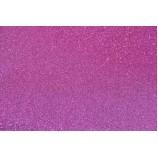 Глиттерный фоамиран 20х30 см, толщина 2 мм, цвет - фуксия